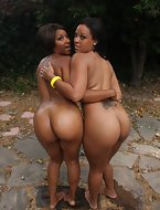 Natasha and Imani are stacked! They got fat booty for days.